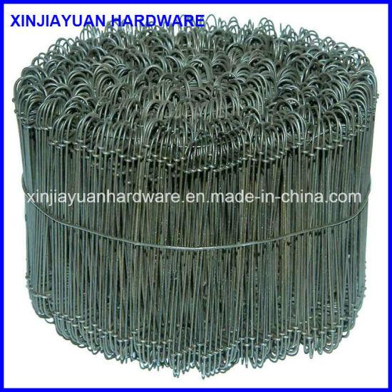 China Double Loop Bar Ties Loop Wire TieBag Ties China Loop Tie