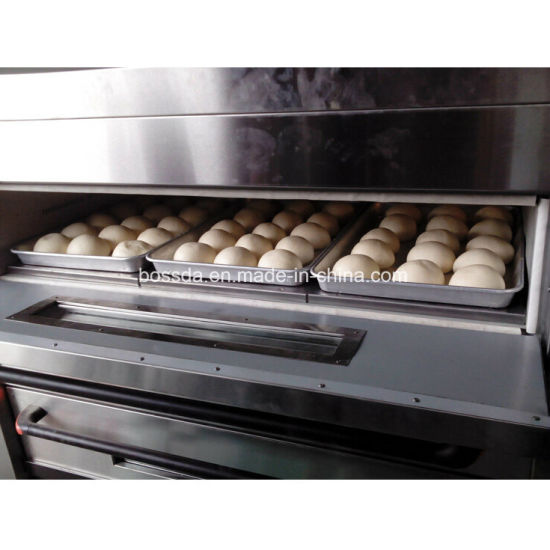 Popular Gas Baking Equipment Deck Pizza Oven for Bakery with 3decks 9trays pictures & photos