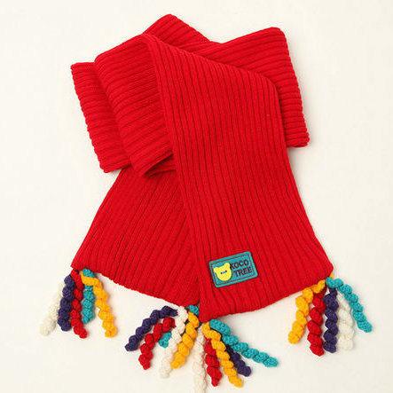 Durable 100%Acrylic Fashion Knit Scarf