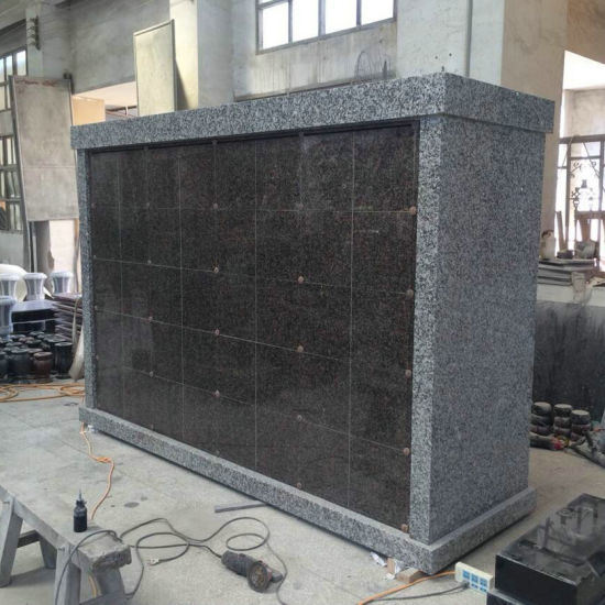 Cheap 25 Niches All Granite Columbarium for Family