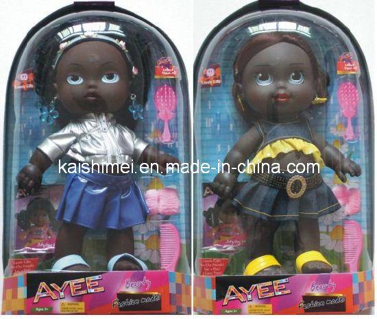 14 Inch Fashion Black Girl Dolls Toys