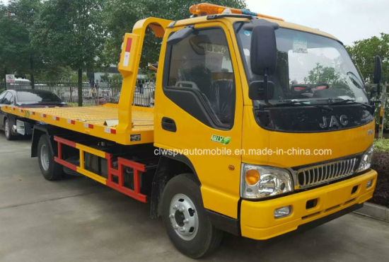6 Wheel JAC Road Block Removal Truck 3t Wrecker pictures & photos