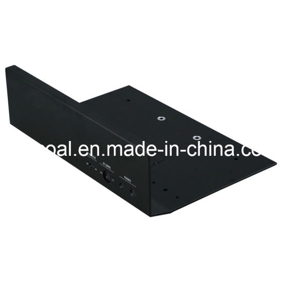 Black Anodized Aluminum/Aluminium Panel for Electronic Audio (TS16949 certified) pictures & photos