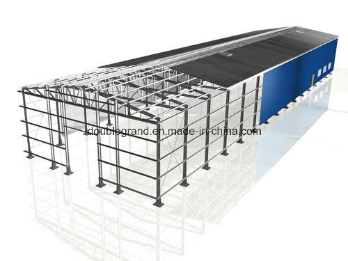 Hot Rolled Steel Prefabricated Light Steel Structure Warehouse