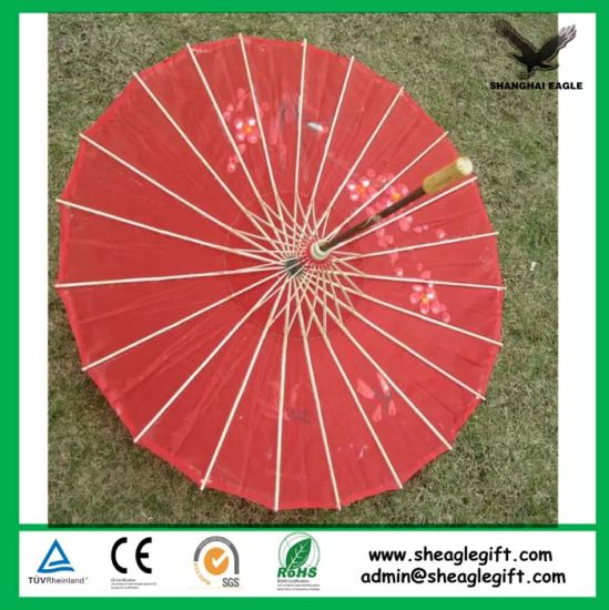 Personalized Printing Bamboo Paper Wedding Umbrella pictures & photos