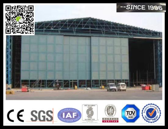 Airplane Sliding Steel Hangar Door