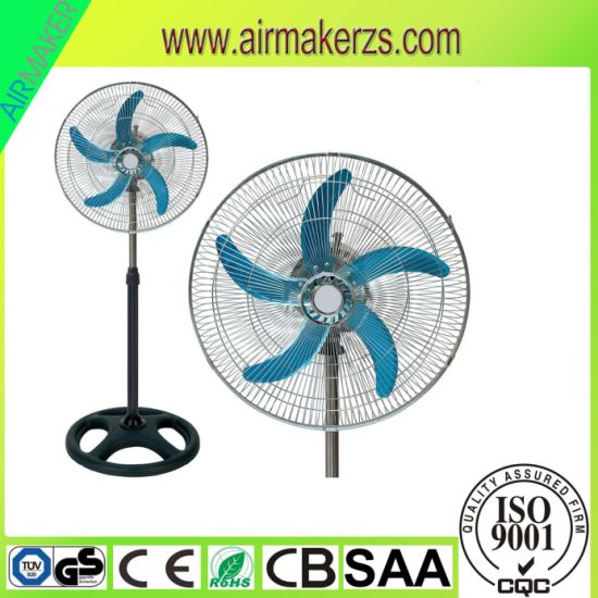 "18"" Industrial Pedestal Fan with SAA/CB/Ce"