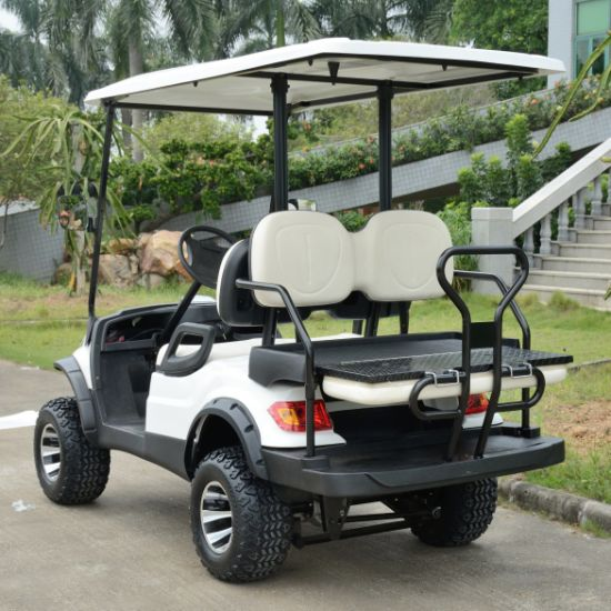 Lvtong Brand 4 Wheels Electric Sport Cart pictures & photos