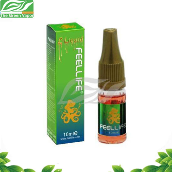Hot Sale Wholesale OEM Vape Juice 10ml Feellife E-Liquid with Childproof Cab pictures & photos