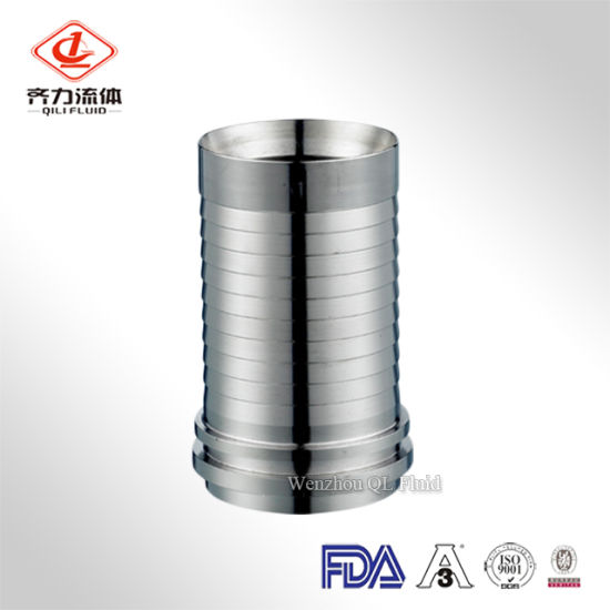 Stainless Steel Sanitary Hose Adapter