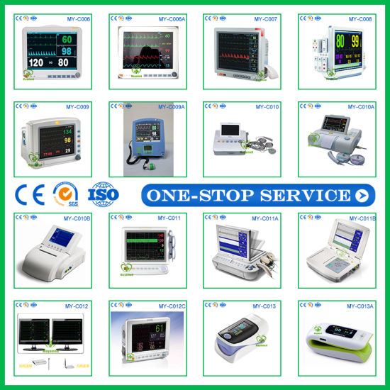 Hot Sale Maya Medical Equipment ICU Monitor Price Multi-Parameter Patient Monitor pictures & photos