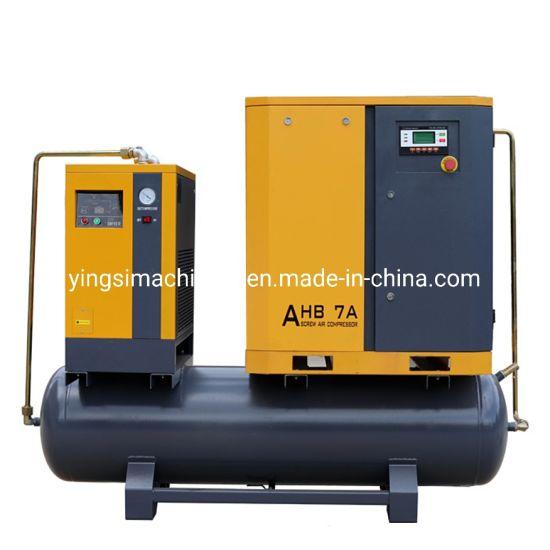 5.5kw Screw Compressor for Woodworking Machine