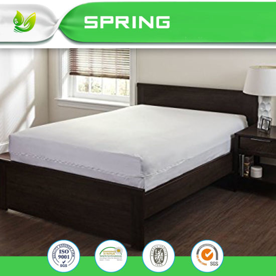 sheet hlu mattress product size king vinyl cover bed plastic protector fitted wetting