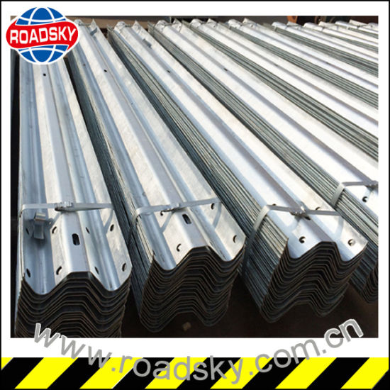 Low Price Highway Hot-DIP Galvanized Metal W Beam Guard Rail pictures & photos
