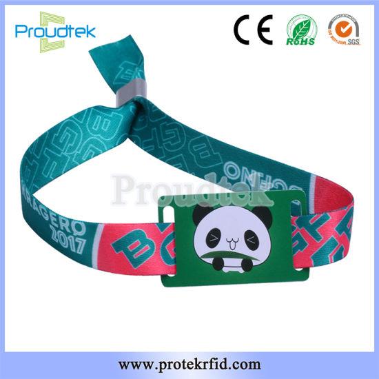 Rfid Wristbands At Music Festivals Custom Woven Bracelets