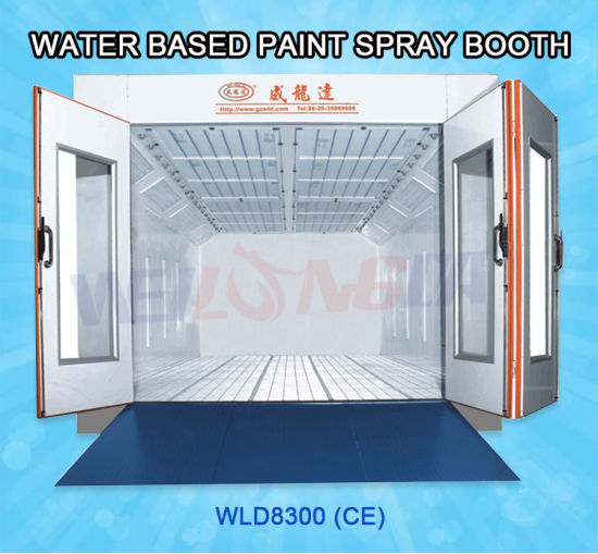 China Wld8300 Ce Water Base Spray Booth Kuwait for Sale - China