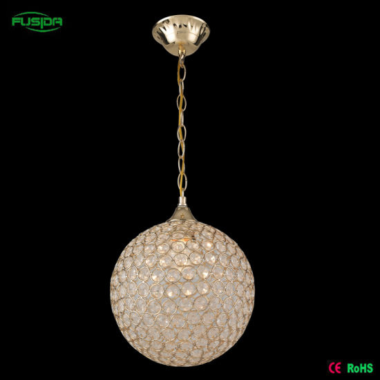 Crystal Lamp Round Ball Crystal Chandelier, Pendant Light pictures & photos