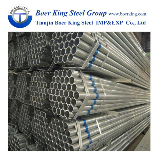 Hot Dipped Galvanized Steel Pipe/ERW/Carbon, Black Steel Pipe Tube