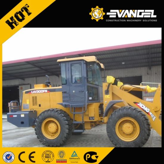 Hot Sale Cheap 3ton Small Wheel Loader Lw300fn pictures & photos