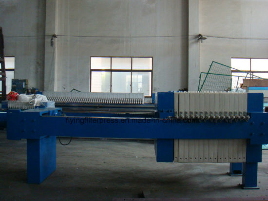 Hydraulic Automatic Membrane Filter Press for Slurry/Mud/Sludge pictures & photos