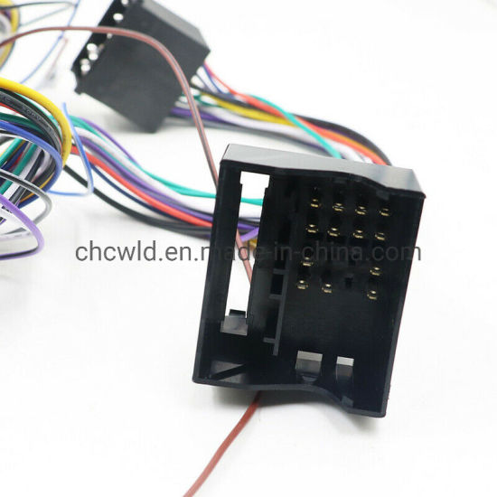 china car extension 6m cable kit fit for bmw e46 e39 e53 bm24 radio wiring  harnesses - china wiring harness, radio wiring harness  guangzhou city youye electronics co., ltd.