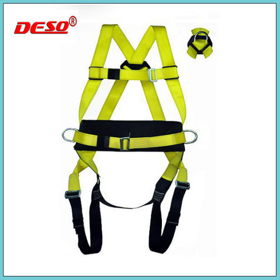 High Quality Full Body Fall Protection Safety Harness