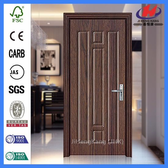 China 4 Panel Door Folding Doors Plastic PVC Coated Door - China ...