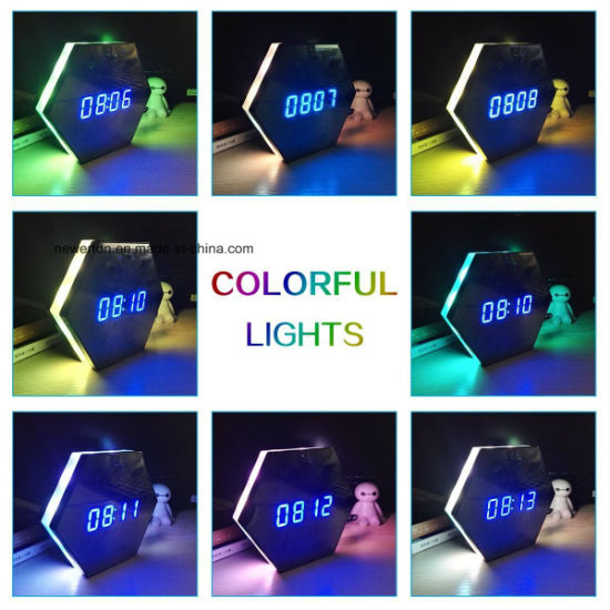 Newest Colourful 1080P WiFi Camera Clock with Video Duration Over 4 Hours WiFi Clock Camera pictures & photos