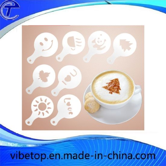 New Arrival Series Coffee Stencil Decoration Mold