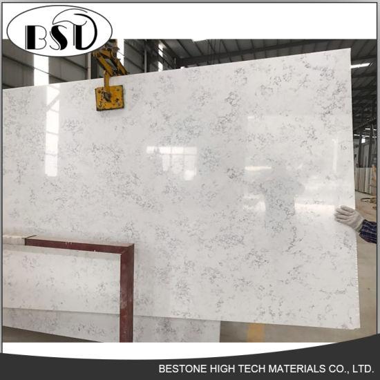 Polished White Vein Quartz Stone Slabs