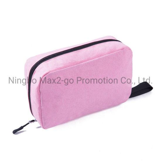 Factory Direct Sale Waterproof and Scratch Resistant Makeup Bag Folding Hanging Wash Bag Portable Storage Bag for Travel