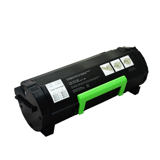 Hot Selling Premium Ms510 Compatible Toner Cartridge for Lexmark Ms/Mx310/312/315/317/410/415/417/510/610/611
