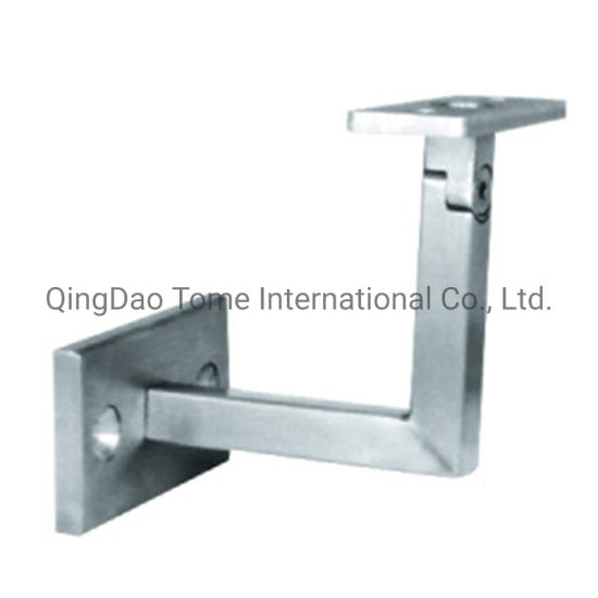 OEM Stainless Steel Wall Mounted Round Wooden Iron Glass Square Exterior Stair