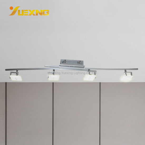 China 4 Lights Track Lighting Ceiling