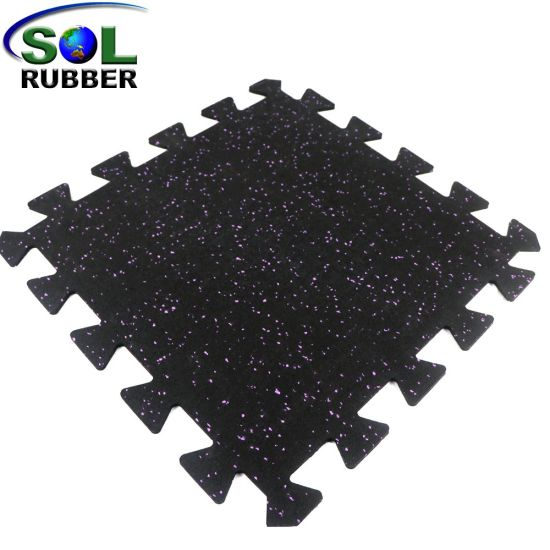 China Free Install Cross Fit Gym Flooring Rubber Tile China