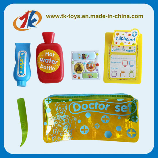 Educational Kids Doctor Play Set Toy with Bag