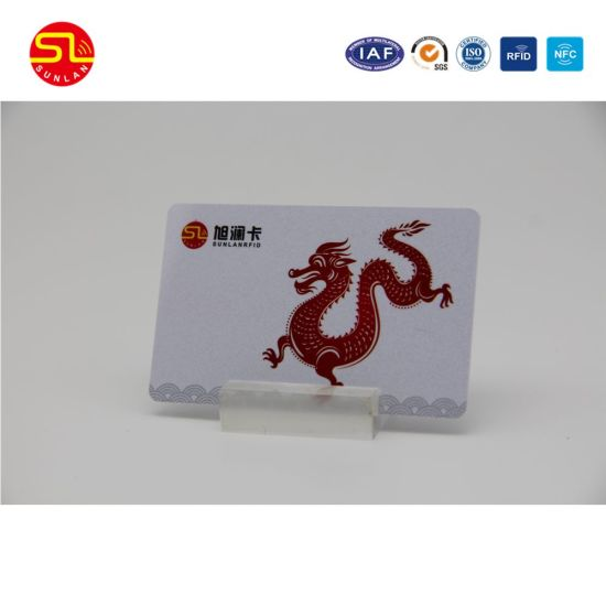 ISO 14443 13.56MHz Plastic Printing RFID Smart Card pictures & photos