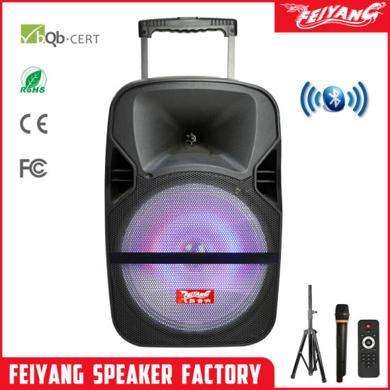 Chinese Factory Outdoor Party 12 Inch Speaker Portable Mini Wireless Bluetooth Speaker F87 pictures & photos