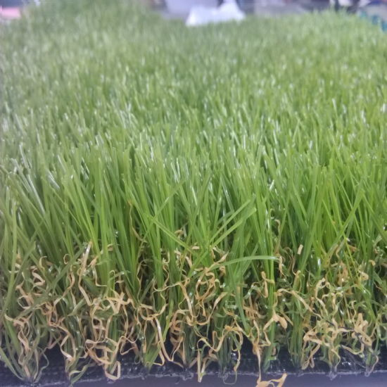 Green Color PE Artificial Grass for UK Market pictures & photos