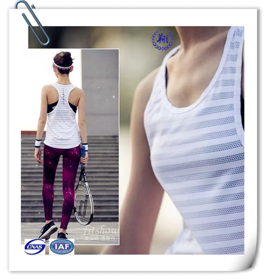 Nylon Spandex Jacquard Fabric for Sportwear