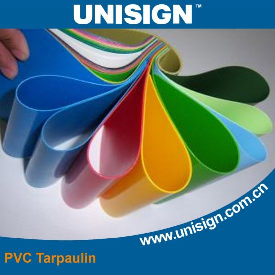 High Quality PVC Coated Tarpaulin 600GSM pictures & photos