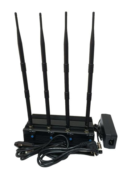 Desktop Adjustable 4W All 5.2g 5.8g 2.4G WiFi Jammer pictures & photos