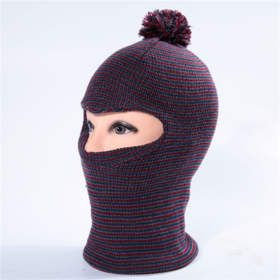 Custom Promotional Cap and Beanie Hat Knitted Balaclavas Winter Caps