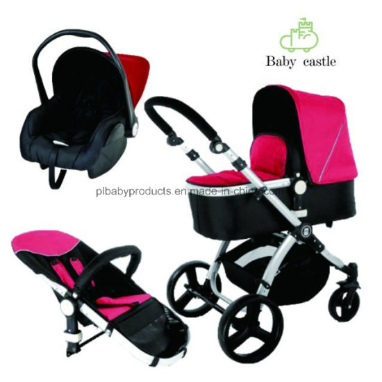 Big Wheels Kid Stroller with Car Seat