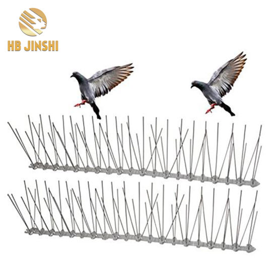 304 Stainless Steel Bird Control Plastic Pest Control Anti Bird Spikes