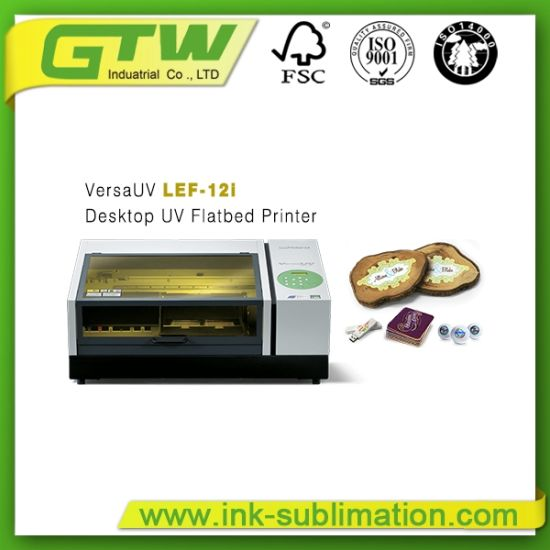 Famous Roland Versauv Lef-12I UV Flatbed Printer in Benchtop pictures & photos