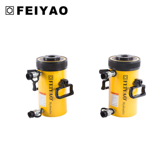 Hollow Plunger Hydraulic Jack (double acting) pictures & photos