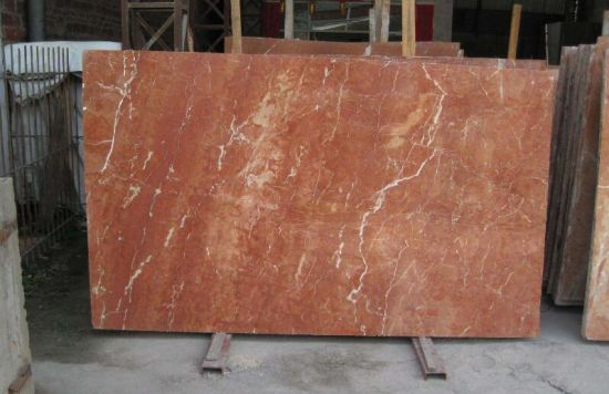 China Coral Red Marble Tile/Slab/Countertop/Stairs - China Coral Red ...