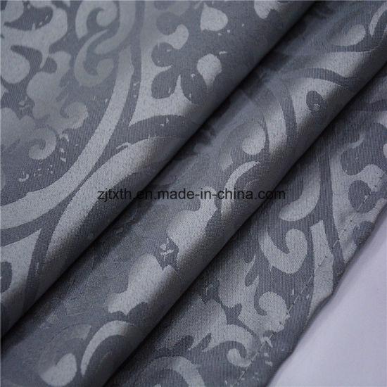 2018 Wholesale Fob Shanghai 100% Polyester jacquard Curtain Fabric