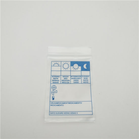 China Printed Plastic S Small Ziplock Bag For